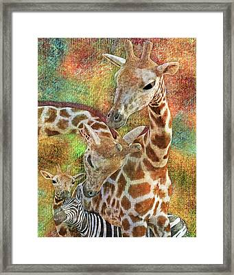 Creatures Great And Small Framed Print by Betsy Knapp