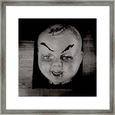 Creepy Old Stuff Iv Framed Print by Marco Oliveira