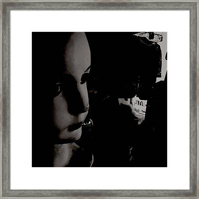 Creepy Old Stuff Viii Framed Print by Marco Oliveira