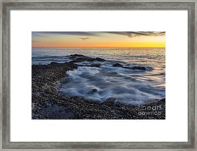Crescent Bay Tide Pools Framed Print by Eddie Yerkish