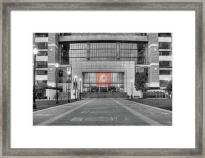 Crimson Tide Football Framed Print by JC Findley