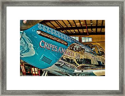 Cripes Almighty Framed Print by Tommy Anderson