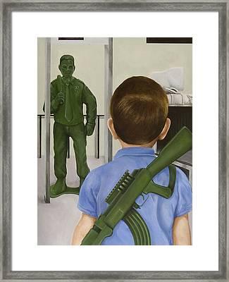 Crisis Averted Framed Print by Josh Bernstein