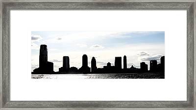 Crispy Jersey City Framed Print by Keshava Shukla