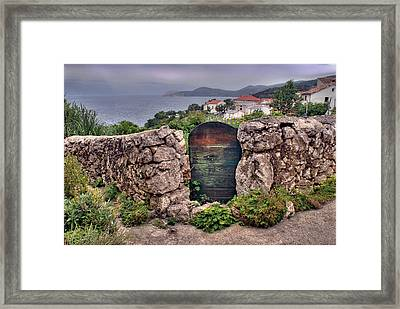 Croatian Gate Framed Print by Don Wolf