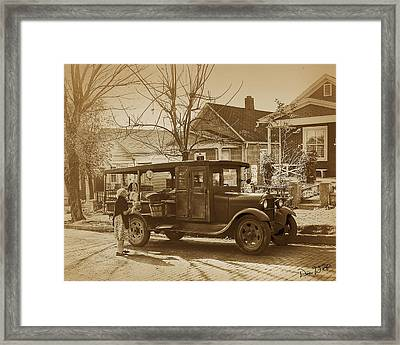 Croatian Huckster Framed Print by Don Wolf