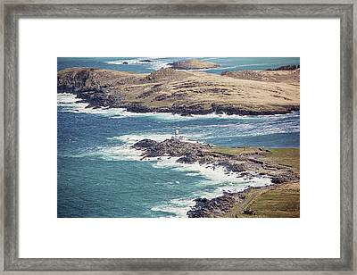 Cromwell Point And Valentia Island Lighthouse Framed Print by Scott Pellegrin