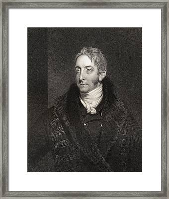 Cropley Ashley Cooper 6th Earl Of Framed Print by Vintage Design Pics