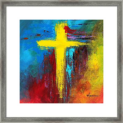 Cross 2 Framed Print by Kume Bryant