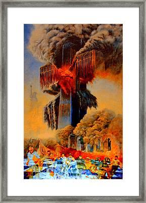 Cross Of The Third Millennium Framed Print by Henryk Gorecki