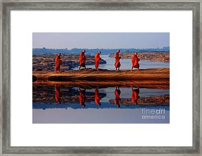 Cross Over Framed Print by Buchachon Petthanya