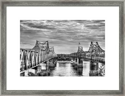 Crossing Big Muddy Framed Print by JC Findley