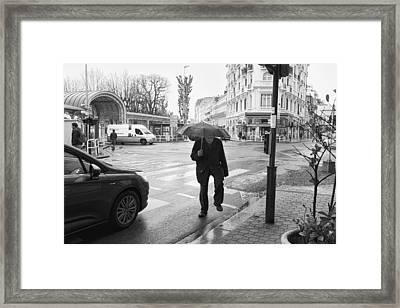 Crossing Framed Print by Hugh Smith