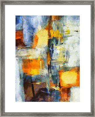 Crossing Framed Print by Lutz Baar