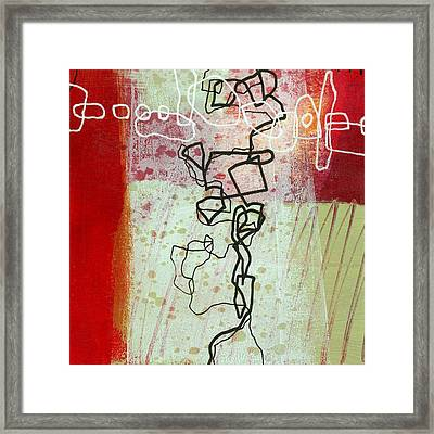 Crossroads 28 Framed Print by Jane Davies