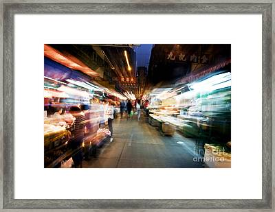 Crowds Moving Through Jordan Framed Print by Ray Laskowitz - Printscapes