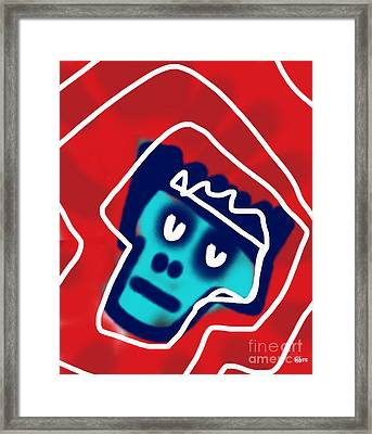 Crowned Framed Print by Will Hoffman
