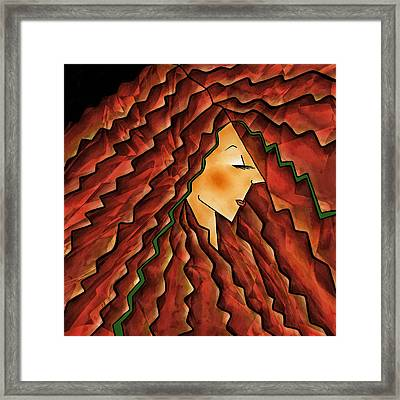 Crowning Glory Framed Print by Brenda Bryant