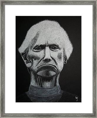 Crucify Him Framed Print by Nick Young