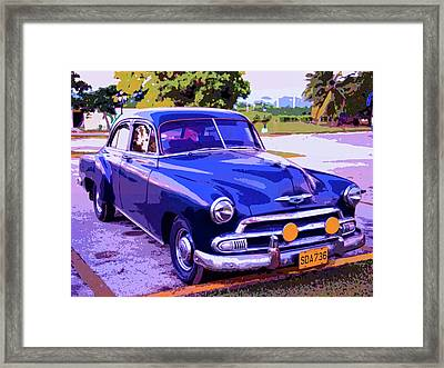 Cruiser Framed Print by Dominic Piperata