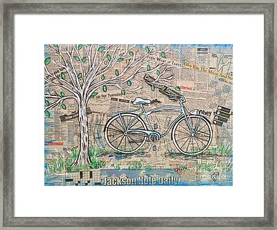 Cruising Framed Print by Nicolette Maw