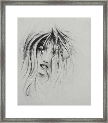 Cry Baby Framed Print by Rachel Christine Nowicki