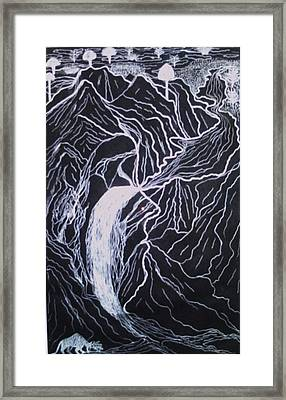 Crying Hills Framed Print by Eziagulu Chukwunonso
