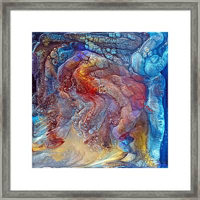 Crystal Caves - Right Side Framed Print by Paul Tokarski