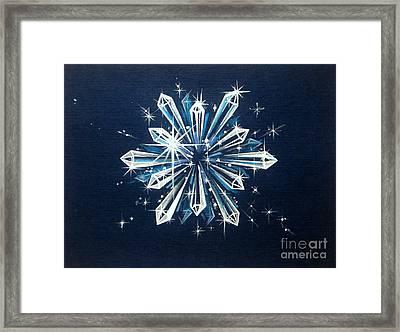 Crystal Clarity Framed Print by Shasta Eone