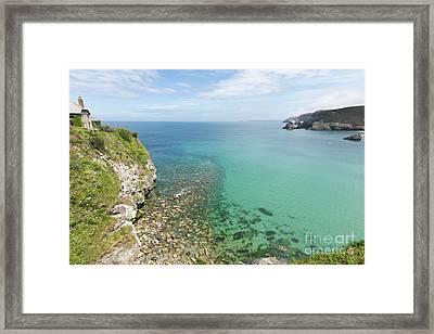Crystal Clear Sea Framed Print by Terri Waters