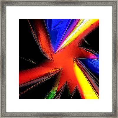 Crystall Red Framed Print by Patrick Guidato