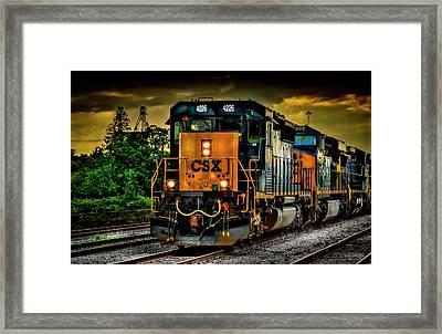 Csx 4226 Framed Print by Marvin Spates