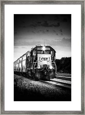 Csx 6007 Framed Print by Marvin Spates