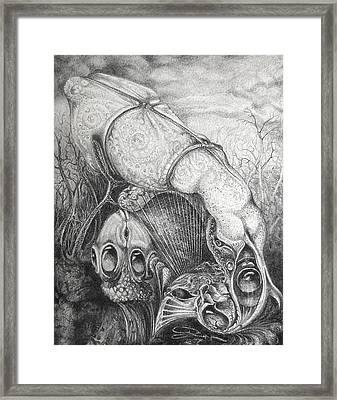 Ctulhu Seedpods Framed Print by Otto Rapp