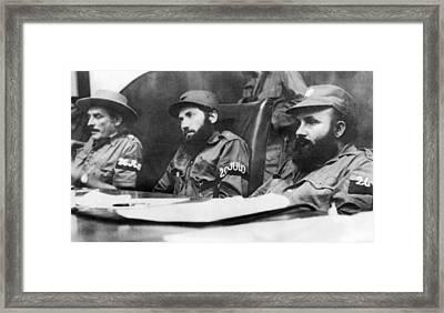 Cuban Revolutionary Trials Framed Print by Underwood Archives