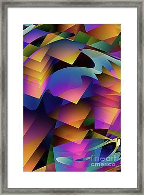 Cubesque Framed Print by John Edwards