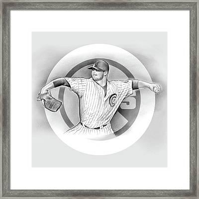 Cubs 2016 Framed Print by Greg Joens