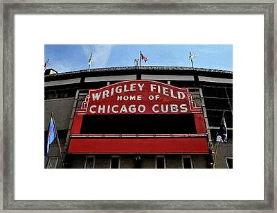 Cub's House Framed Print by Lyle  Huisken