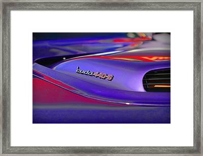 'cuda 440-6 Framed Print by Gordon Dean II