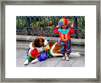 Cuenca Kids 136 Framed Print by Al Bourassa