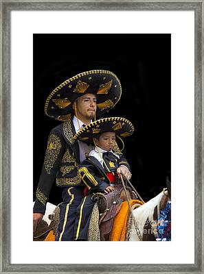 Cuenca Kids 648a Framed Print by Al Bourassa