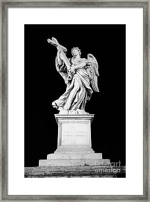 Cuius Principatus Super Humerum Eius Framed Print by Fabrizio Ruggeri
