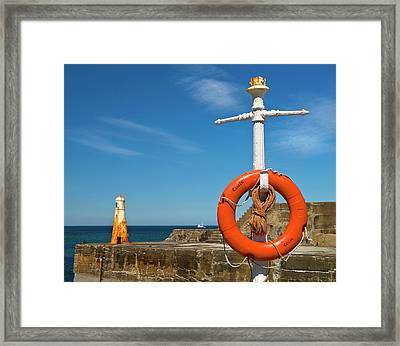 Cullen Summer Colours  Framed Print by Bill Buchan