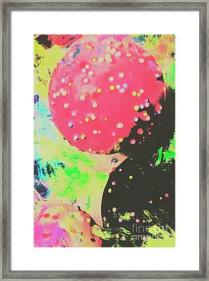 Cup Cake Birthday Splash Framed Print by Jorgo Photography - Wall Art Gallery