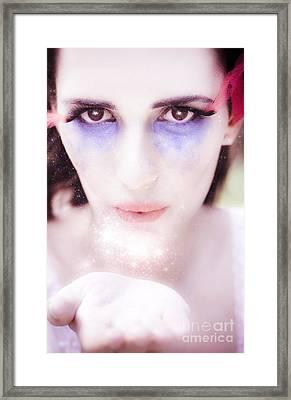 Cupid Kiss Framed Print by Jorgo Photography - Wall Art Gallery