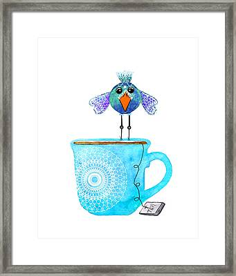 Cuppa Series - Tea Taster Framed Print by Moon Stumpp