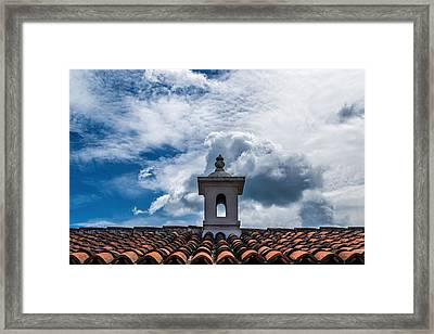 Cupula Antigua Guatemala 1 Framed Print by Totto Ponce