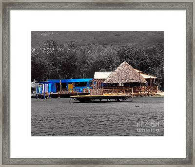 Curacao  Framed Print by Steven Digman