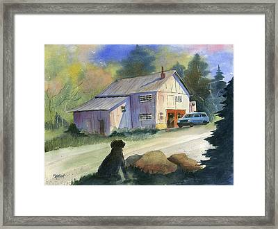 Curiosity Framed Print by Marsha Elliott