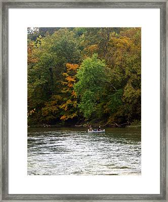 Current River 2 Framed Print by Marty Koch
